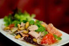 Thai spicy tuna salad Royalty Free Stock Photos