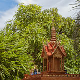 Thai spirit house 06 Stock Images