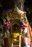 Thai spirit house Stock Photos