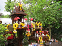 Thai Spirit House Royalty Free Stock Photography