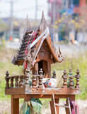 Thai spirit's house Stock Photo