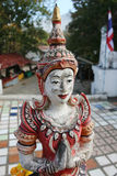 Thai Statue Art. The art of statue in a temple, Northern of Thailand Stock Photography