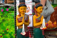 Typical thai statue royalty free stock image