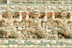 Thai status of chedi Royalty Free Stock Images