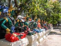 thai statyer Royaltyfria Foton