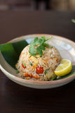 thai stekt rice arkivbild
