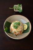 thai stekt rice arkivfoto