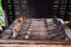 Thai stil för schack Arkivfoton