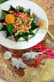 Thai stir fried basil&fresh chili Stock Photos