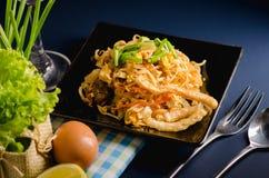 Thai stir-fried rice noodles & x28;Pad Thai& x29;. Thai stir-fried rice noodles. & x28;Pad Thai& x29 stock photos