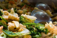 Thai Stir-fried Vegetables Stock Photos