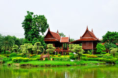 Thai stkly. Thai style surrounded by natural beauty Stock Image