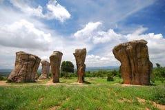 Thai Stonehenge Royalty Free Stock Photography