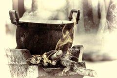 Thai stove, Thai food, kitchen, cooking tool Stock Images