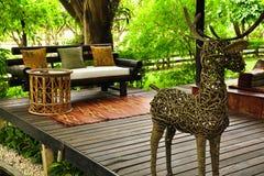 thai strömförande stil för område Royaltyfri Bild