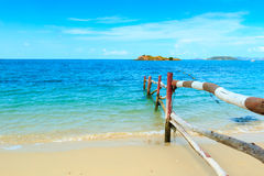 thai strand Arkivbilder
