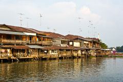 thai strand för husstil Royaltyfri Bild