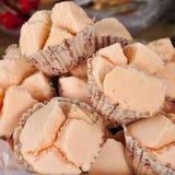 Thai streamed cup cake Stock Photos