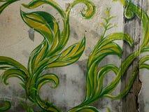 Thai street art. Thai old street art Stock Photos