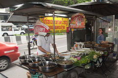 Thai street food Royalty Free Stock Image