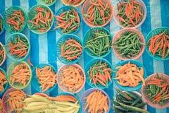Thai street food, chilli Royalty Free Stock Photos