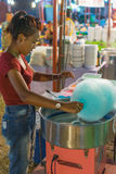 Thai street food, cotton candy Stock Photography