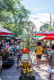 Thai street food, The donation Royalty Free Stock Photography