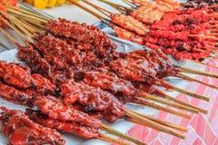 Thai street food on the market Royalty Free Stock Image