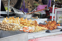 Thai street food Stock Photography