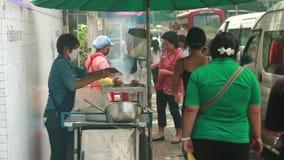 Thai street foods Stock Image