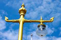 Thai street lamp Stock Images
