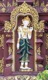Thai Stucco Art royalty free stock photos