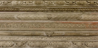 Thai stucco Royalty Free Stock Photo