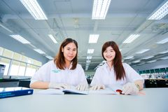 Thai student girl Stock Photography