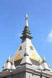 Thai stupa in loei Royalty Free Stock Photography