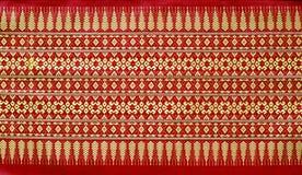 Thai style. Pattern of thai native cloth Royalty Free Stock Photos