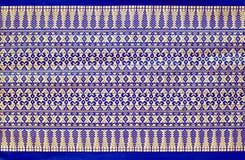 Thai style. Pattern of thai native cloth Royalty Free Stock Photo