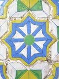 Thai style ancient ceramic tile in Royal palace, Bangkok, Thailand Stock Photos