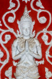 Thai style angel statue in Chiang Mai Thailand Royalty Free Stock Images