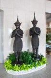 Thai style angel statue Stock Photos