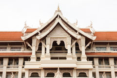 Thai style architecture Stock Images