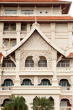 Thai style architecture Stock Image