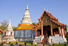Thai style architecture Royalty Free Stock Image