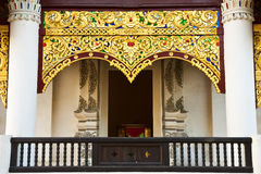 Thai style architecture Stock Photos