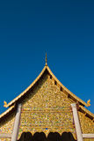 Thai style architecture Royalty Free Stock Photo