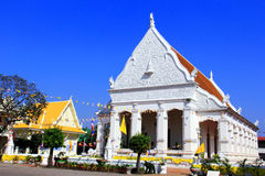 Thai style architecture temple Royalty Free Stock Photo