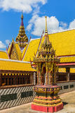 Thai style architecture of  temple Royalty Free Stock Image