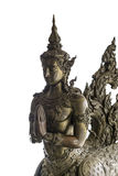 Thai Style Art bronze sculpture of angle Stock Image
