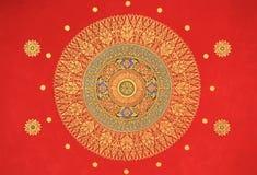 Thai Style Art Painting Royalty Free Stock Image