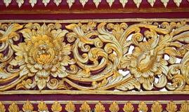 Thai style art pattern Stock Photo
